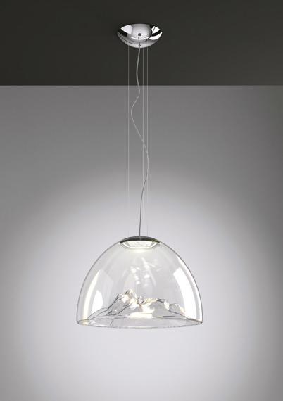 AXO Light Zwis Mountain View SP przezroczysto-chromowana LED