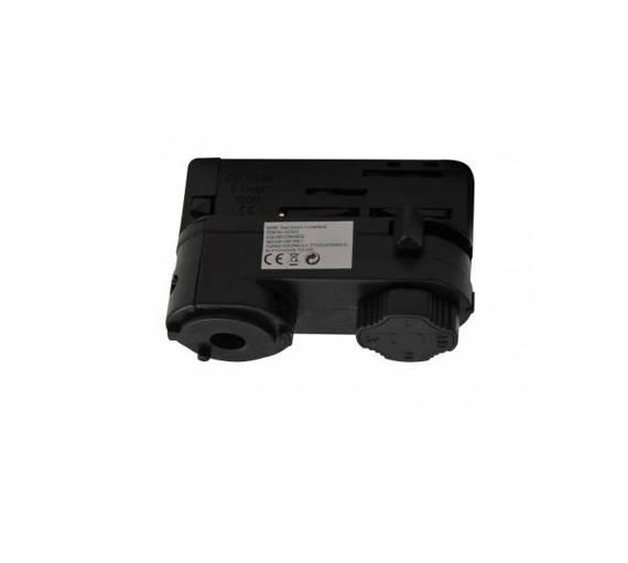 Azzardo Adapter Do szyny montażowej Track Electric 3 Line AZ3003 Czarny