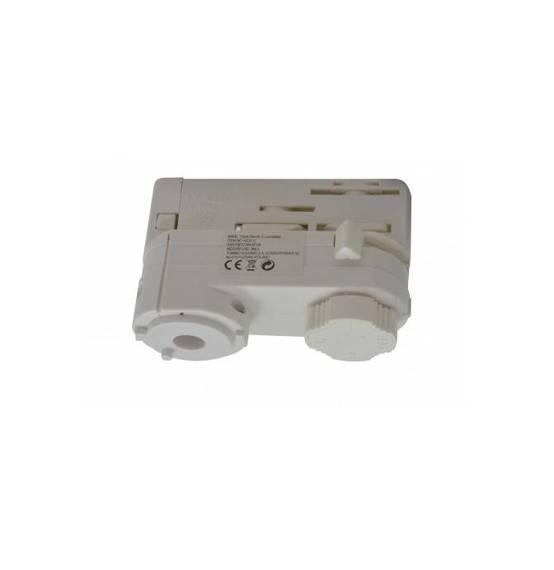 Azzardo Adapter Do szyny montażowej Track Electric 3 Line AZ3012 Biały