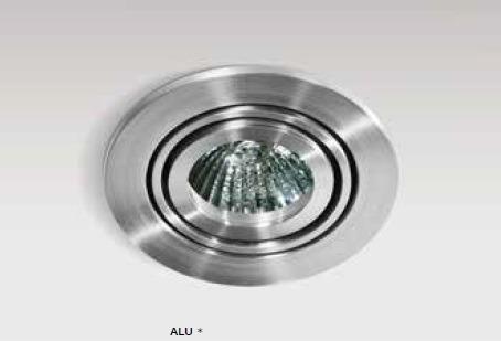 Azzardo CARLO 1 GM2102 Aluminium Wpust