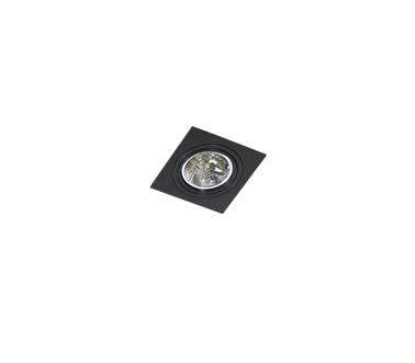 Azzardo Siro 1 Oprawa sufitowa w kolorze czarnym AZ2805