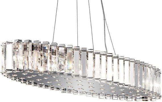 Elstead Lighting Crystal Skye KL/CRSTSKYE/I/L Lampa wisząca