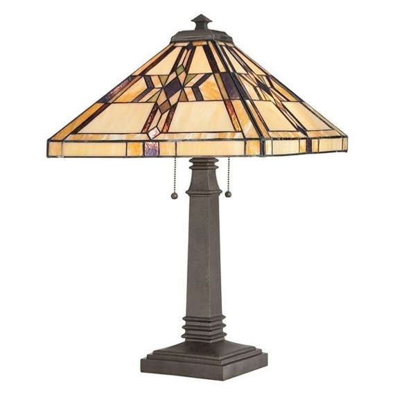 Elstead Lighting Finton QZ/FINTON/TL Lampa stołowa