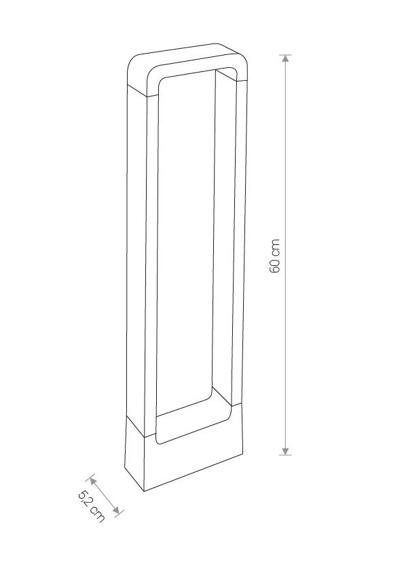 Lampa Stojąca Zewnętrzna Nowodvorski Thika 9118