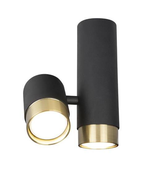 Lampa Sufitowa Czarny MaxLight Puma C0195