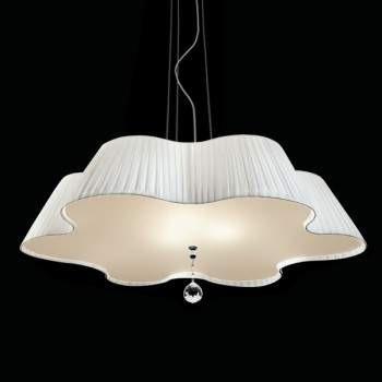 Lampa Vintage DAISY 90 biała SODAI90BC