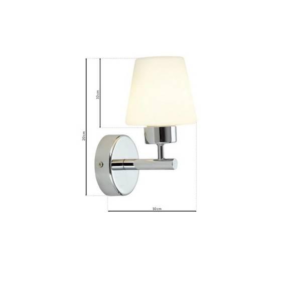 Lampa ścienna Milagro LEE ML6383 IP44