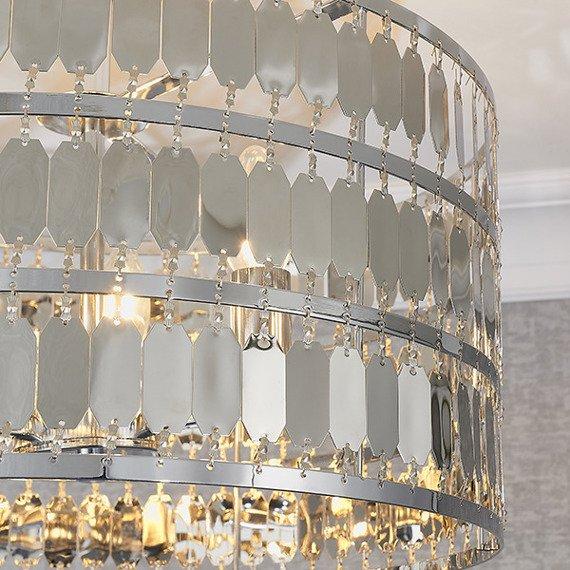 Lampa sufitowa Endon Eldora 3 90297 Chrom