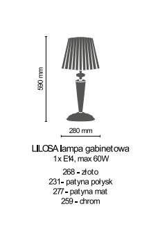 Lampka Gabinetowa Amplex LILOSA