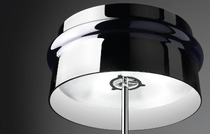 Leucos ARO TR Lampa Podłogowa czarna