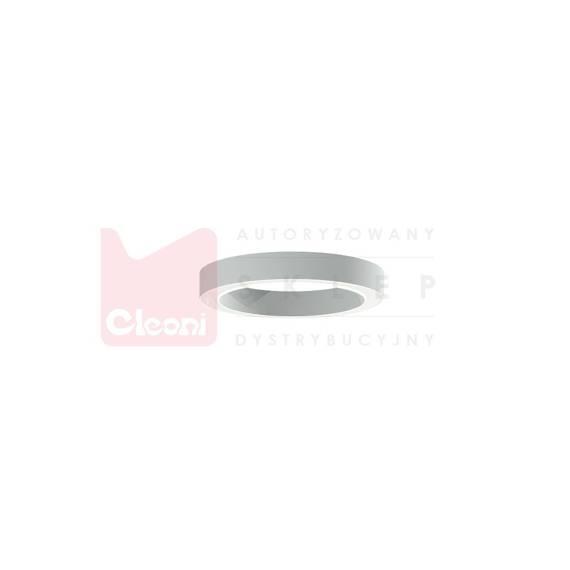 Plafon Cleoni 1408/ER/LA/W/SP 175 LED Srebrny matowy 50 cm