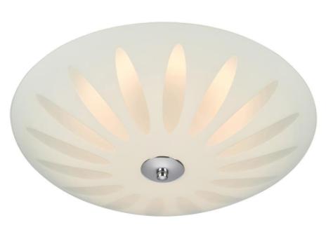 Plafoniera LED 107165 PETAL Biały/Chrom Markslojd