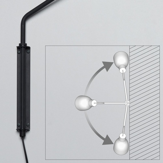 Ramko Lotta 66153 miedziana Lampa ścienna