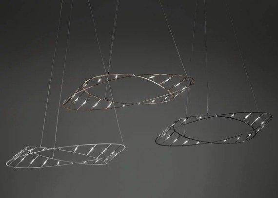 Sforzin Tesa Piccola Nera Zwis LED