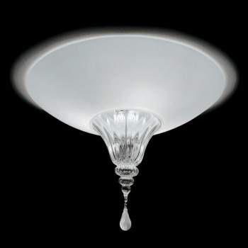 Vintage POISON 60 Lampa Sufitowa bianco/cristallo