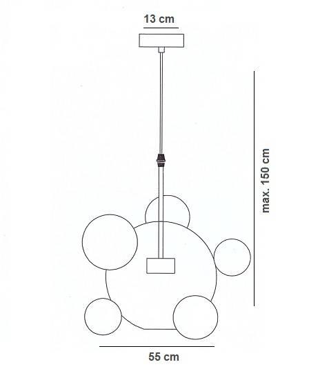 Zwis Berella Light Ballone 1C BL0421