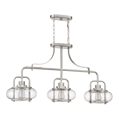Zwis Elstead Lighting Trilogy QZ-TRILOGY-ISLE-BN Nikiel