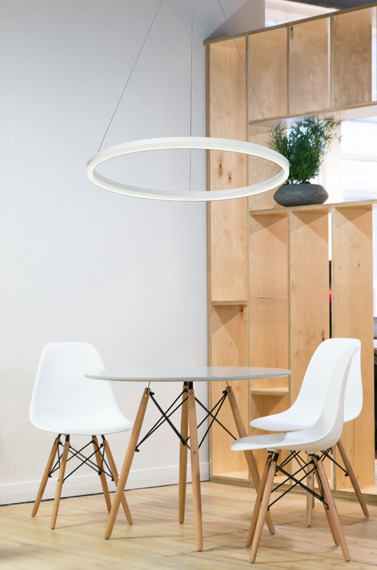 Zwis LED Palnas Dona 60 cm 3000 K biała