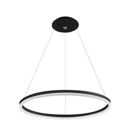 Zwis LED Palnas Dona 80 cm czarna