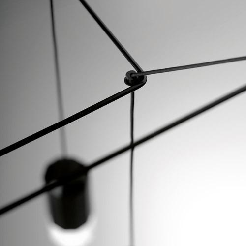 Zwis Wireflow 0312-04 Vibia czarna 50 cm