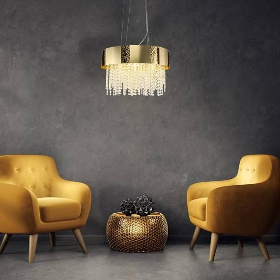 Zwis glamour Milagro Astor ML5729 Złoty