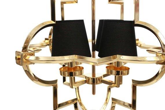 Zwis w stylu glamour złoty Berella Light Torla 4 BL0511