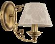 Ekskluzywna lampa ścienna Kutek Casamia CAS-K-1(P/A) Patyna